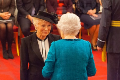 Dame Julie Walters from Billingshurst is made a Dame Commander of the British Empire by Queen Elizabeth II at Buckingham Palace PRESS ASSOCIATION Photo. Picture date: Tuesday November 7, 2017. See PA story ROYAL Investiture. Photo credit should read: Dominic Lipinski/PA Wire