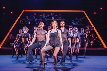 A scene from Chicago The Musical @ Phoenix Theatre, London. (Taken 24-03-18) ©Tristram Kenton 03-18 (3 Raveley Street, LONDON NW5 2HX TEL 0207 267 5550 Mob 07973 617 355)email: tristram@tristramkenton.com