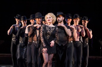 A scene from Chicago The Musical @ Phoenix Theatre, London.(Taken 29-03-18)©Tristram Kenton 03-18(3 Raveley Street, LONDON NW5 2HX TEL 0207 267 5550 Mob 07973 617 355)email: tristram@tristramkenton.com