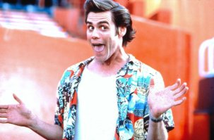 No Merchandising. Editorial Use Only. No Book Cover Usage. Mandatory Credit: Photo by Moviestore/REX/Shutterstock (1541440a) Ace Ventura: Pet Detective, Jim Carrey Film and Television