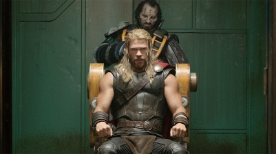 No Merchandising. Editorial Use Only. No Book Cover Usage Mandatory Credit: Photo by REX/Shutterstock (9118763p) Chris Hemsworth Thor: Ragnarok - 2017