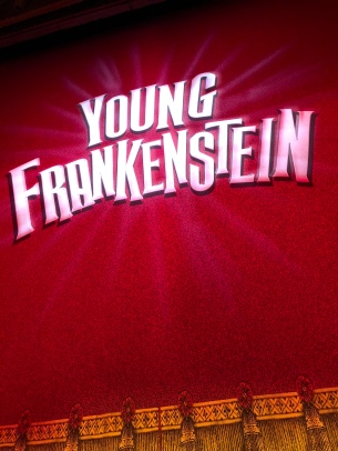 Young Frankenstein the Musical at the Garrick Theatre