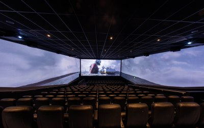 Cineworld launches first ScreenX, a 270 degree viewing experience, in the UK at Cineworld Greenwich O2 with a showing of newly released title, Ant Man. Cineworld at The O2, London. PRESS ASSOCIATION Photo. Picture date: Thursday August 9, 2018. Photo credit should read: Steven Paston/PA Wire