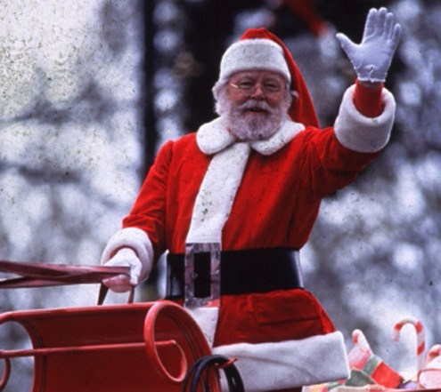 Father Christmas from film Miracle on 34th Street