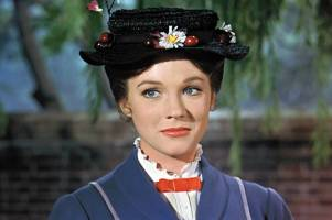 MARY POPPINS, Julie Andrews, 1964