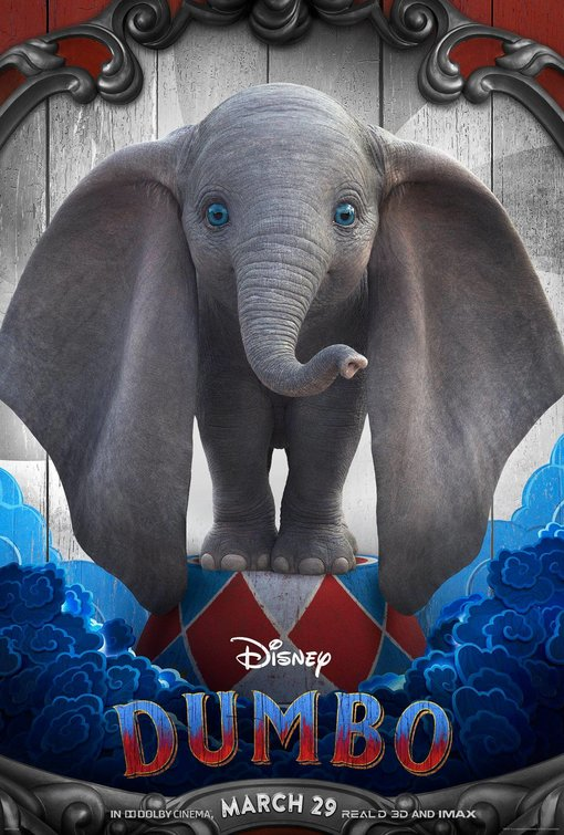 poster  dumbo  2019  characters  u2013 let u0026 39 s go to the movies