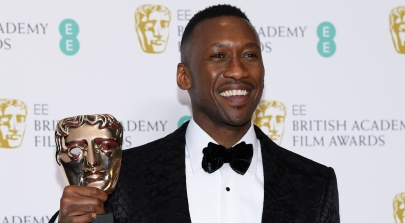 LONDON, ENGLAND - FEBRUARY 10: Winner of the Supporting Actor award for Green Book, Mahershala Ali poses in the press room during the EE British Academy Film Awards at Royal Albert Hall on February 10, 2019 in London, England. (Photo by Pascal Le Segretain/Getty Images)