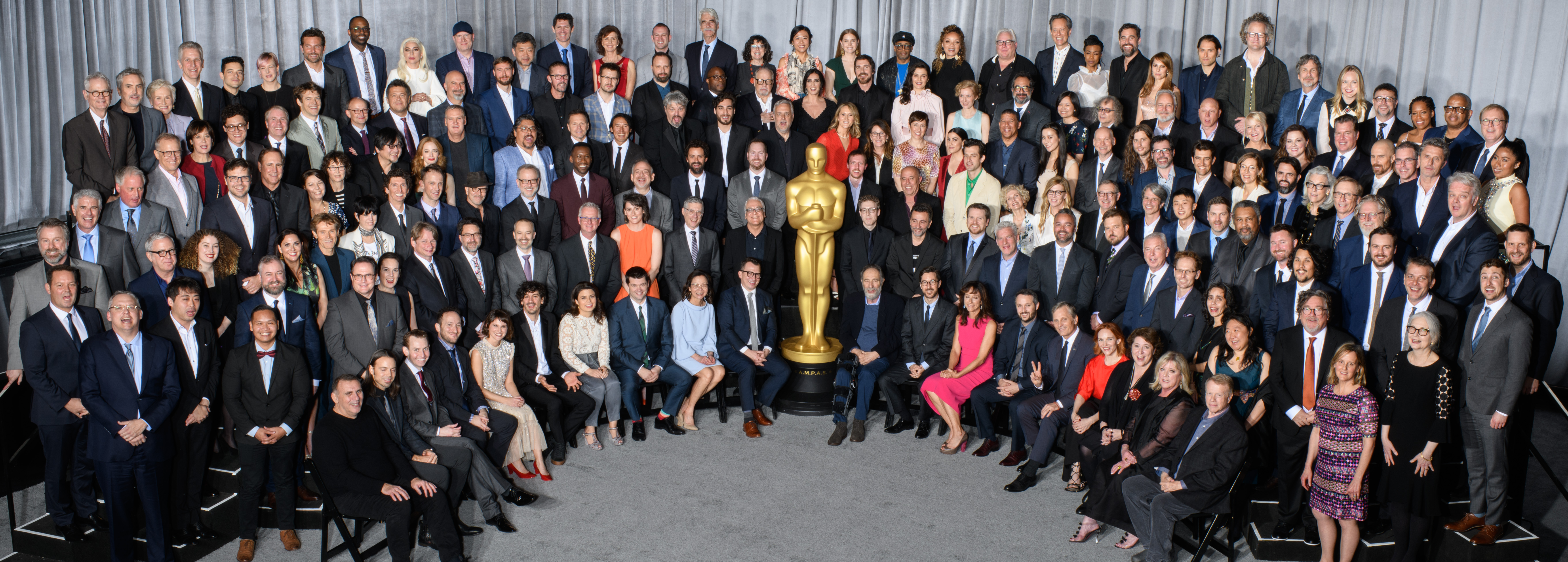 91st Oscars®, Nominees Luncheon, Class Photo