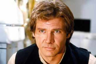 Star Wars Episode VI Return Of The Jedi starring Harrison Ford as Han Solo
