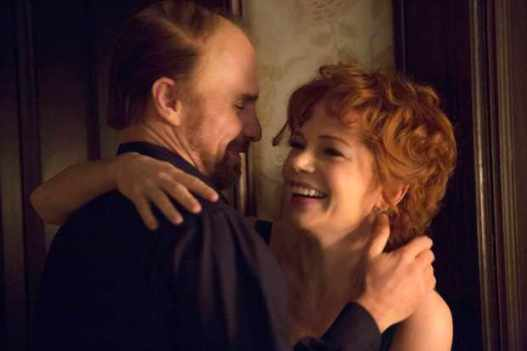 Programme Name: Fosse/Verdon - TX: n/a - Episode: n/a (No. Early Release) - Picture Shows: Gwen Verdon (MICHELLE WILLIAMS), Bob Fosse (SAM ROCKWELL) - (C) FX - Photographer: Production