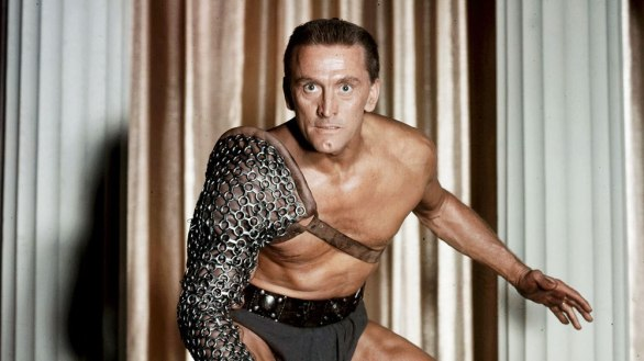 No Merchandising. Editorial Use Only. No Book Cover Usage. Mandatory Credit: Photo by Bryna/Universal/REX/Shutterstock (5886162bs) Kirk Douglas Spartacus - 1960 Director: Stanley Kubrick Bryna/Universal USA Film Portrait