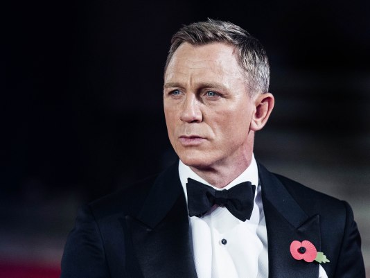Mandatory Credit: Photo by Rupert Hartley/Shutterstock (5304376i) Daniel Craig James Bond 'Spectre' CTBF film premiere, Royal Albert Hall, London, Britain - 26 Oct 2015