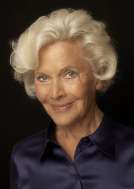 Actress Honor Blackman