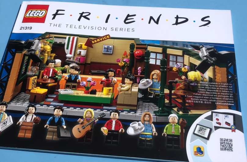 Friends Lego!