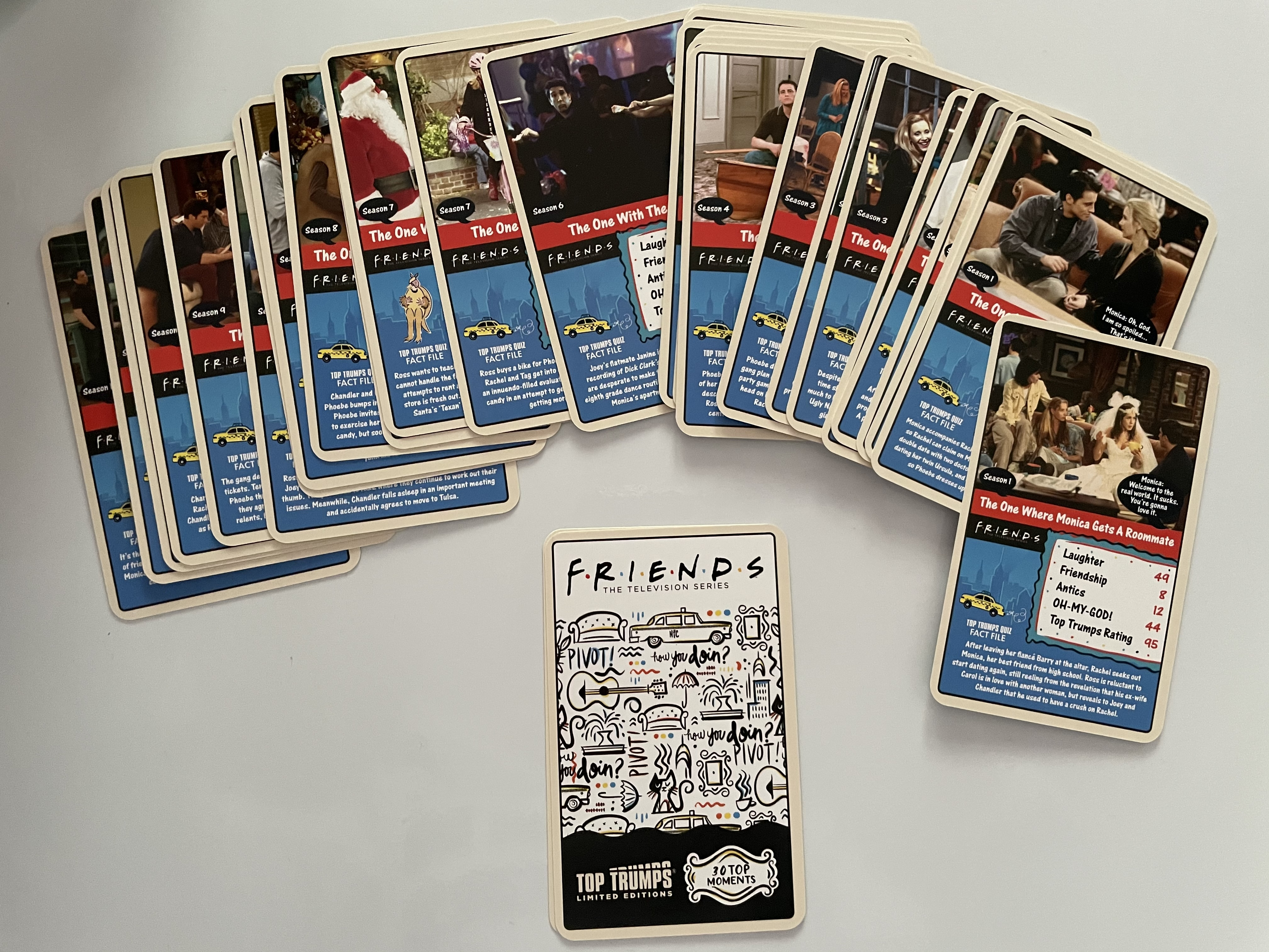 Top Trumps – Limited Edition – Friends